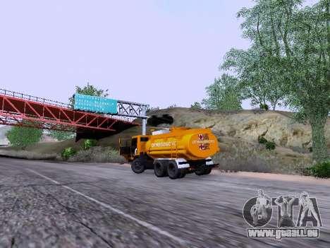 KamAZ 53212 pour GTA San Andreas vue arrière