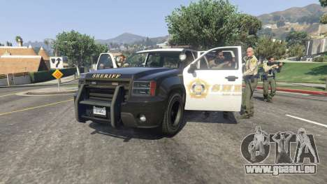 GTA 5 Appeler la police v0.1 deuxième capture d'écran