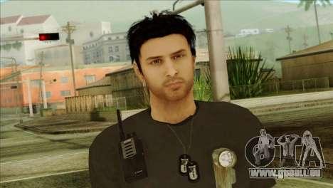 Young Alex Shepherd Skin pour GTA San Andreas troisième écran