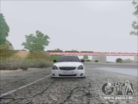 Lada Priora Hatchback für GTA San Andreas Innenansicht