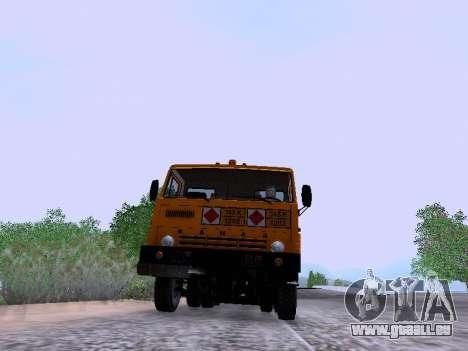 KamAZ 53212 pour GTA San Andreas vue de droite