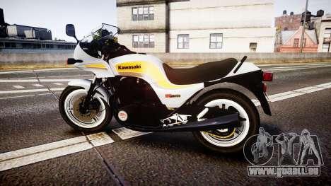 Kawasaki GPZ1100 für GTA 4 linke Ansicht