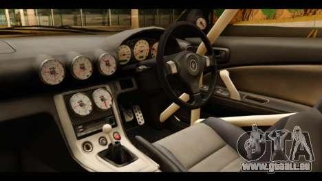 Nissan Silvia S15 Kagamine Rin Itasha pour GTA San Andreas vue de droite