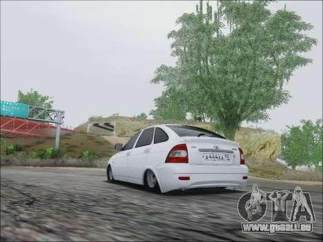 Lada Priora Hatchback für GTA San Andreas rechten Ansicht