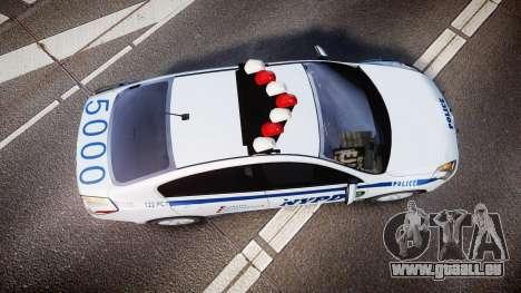 Nissan Altima Hybrid NYPD für GTA 4 rechte Ansicht