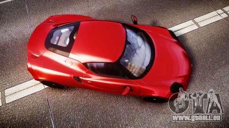 Alfa Romeo 4C 2014 pour GTA 4 est un droit