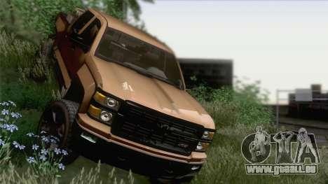 Chevrolet Silverado 2014 Work pour GTA San Andreas