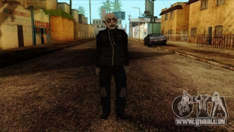Skin 2 from Heists GTA Online DLC für GTA San Andreas
