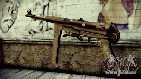 MP40 from Call of Duty World at War pour GTA San Andreas deuxième écran