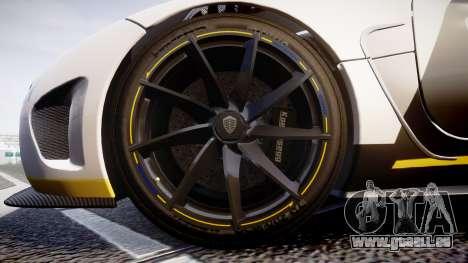 Koenigsegg Agera 2013 Police [EPM] v1.1 PJ3 für GTA 4 Rückansicht