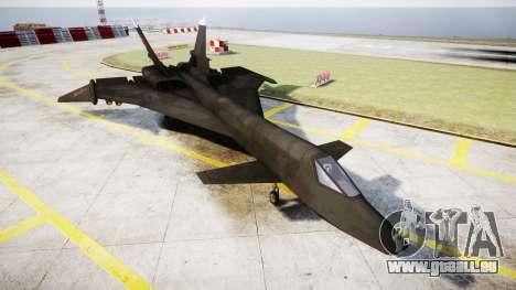 MiG-31 Fire Fox für GTA 4