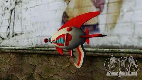 Dead Or Alive 5 LR Kasumi Fighter Force Gun für GTA San Andreas zweiten Screenshot