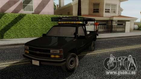 Chevrolet Silverado Military Utility Truck 1990 pour GTA San Andreas
