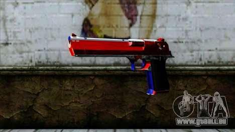 Desert Eagle Criacia pour GTA San Andreas