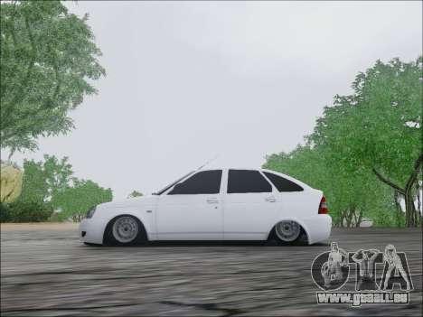 Lada Priora Hatchback für GTA San Andreas Rückansicht