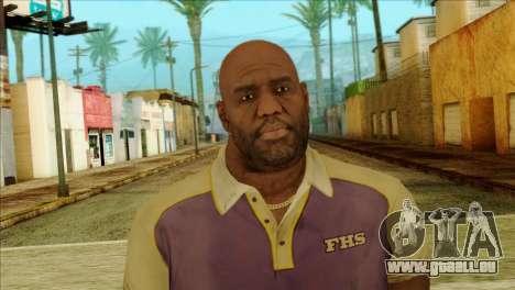 Coach from Left 4 Dead 2 für GTA San Andreas dritten Screenshot