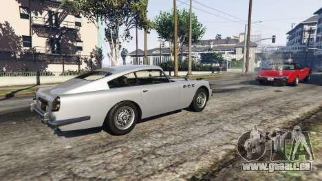 Travail JB700 pour GTA 5