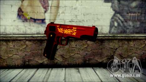 Dual Colt Red Dragon CF für GTA San Andreas