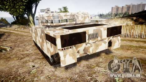 GTA V Rhino für GTA 4 hinten links Ansicht