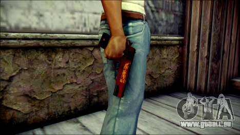 Dual Colt Red Dragon CF für GTA San Andreas dritten Screenshot