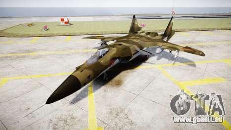 Su-47 Berkut Wald für GTA 4