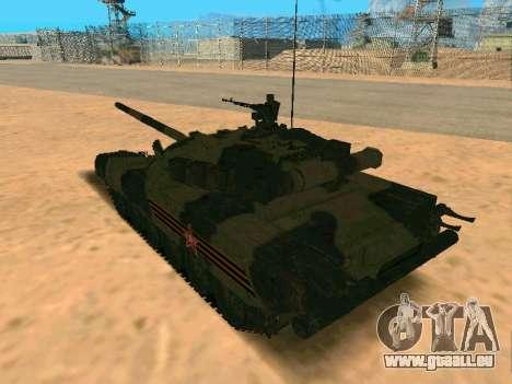 T-80U für GTA San Andreas linke Ansicht