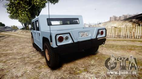 GTA III Classic Patriot für GTA 4 hinten links Ansicht