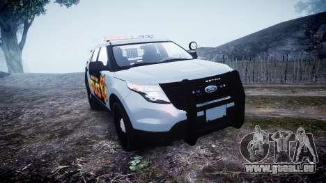 Ford Explorer Police Interceptor [ELS] marked pour GTA 4