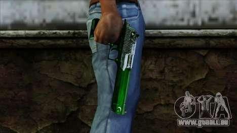 Desert Eagle Pakistan für GTA San Andreas dritten Screenshot