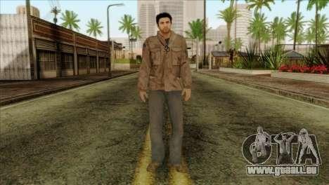 Classic Alex Shepherd Skin without Flashlight pour GTA San Andreas