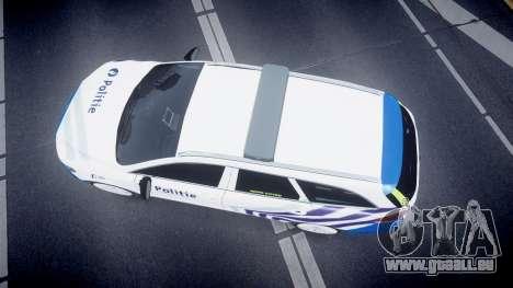 Ford Fusion Estate 2014 Belgian Police [ELS] pour GTA 4 est un droit