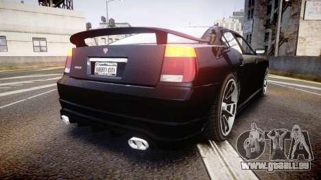 Bravado Buffalo Tuning pour GTA 4 Vue arrière de la gauche