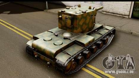 KV-2 German Captured pour GTA San Andreas laissé vue