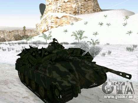Panther pour GTA San Andreas vue de droite