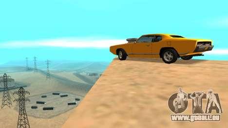 Sabre Charger pour GTA San Andreas roue
