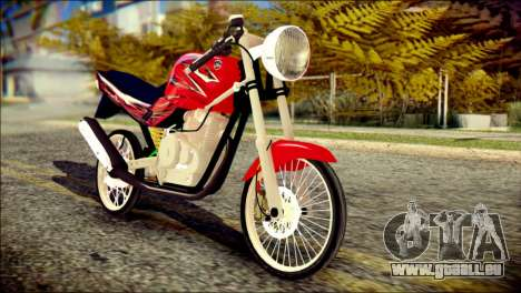 Yamaha Scorpio Z für GTA San Andreas