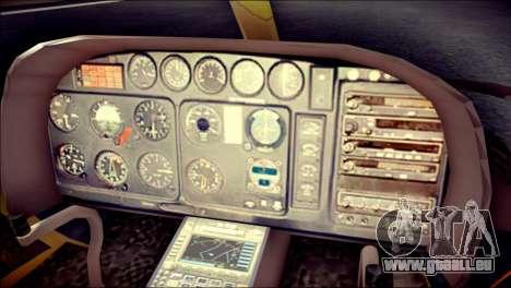 Esquilo 350 Fuerza Aerea Paraguaya für GTA San Andreas rechten Ansicht