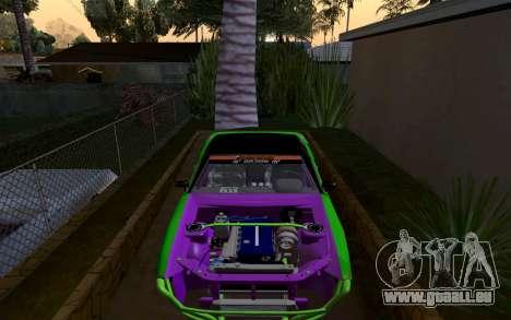 DGTK Elegy v1 für GTA San Andreas rechten Ansicht