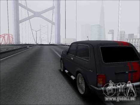 Lada Niva für GTA San Andreas Innenansicht