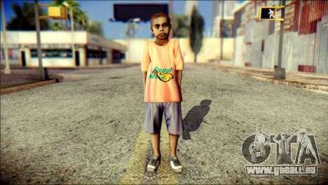 Madison Child Skin für GTA San Andreas
