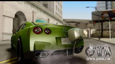 Nissan GT-R Dragster pour GTA San Andreas vue de droite
