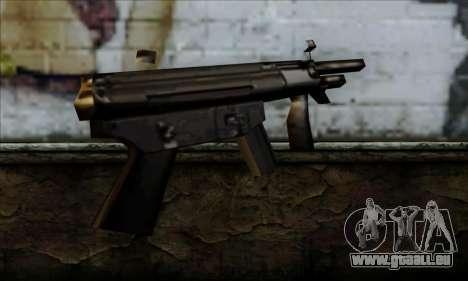 MP5K From LCS pour GTA San Andreas deuxième écran