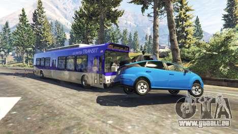Schweren LKW und Bussen für GTA 5
