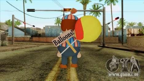 Balloon Boy from Five Nights at Freddys 2 für GTA San Andreas zweiten Screenshot