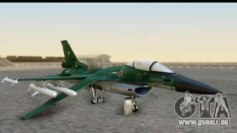 F-2A Zero Dark Green pour GTA San Andreas