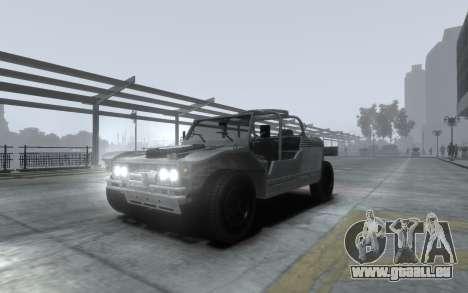 LYT-2021 für GTA 4 Innenansicht