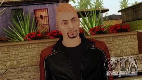 Skin 4 from Heists GTA Online DLC pour GTA San Andreas troisième écran