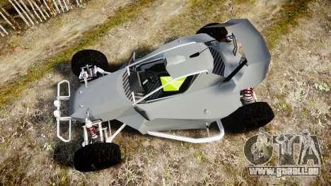 Buggy X für GTA 4 rechte Ansicht