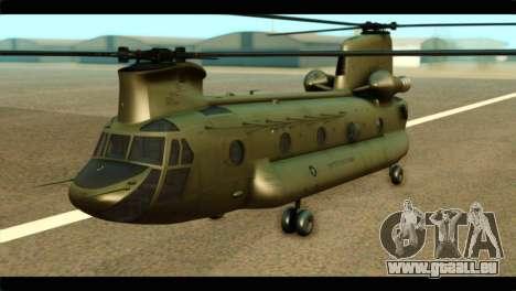 CH-47 Chinook für GTA San Andreas