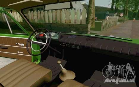 VAZ-2801 für GTA San Andreas Rückansicht
